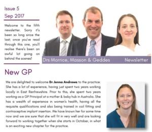Newsletter 5 Front
